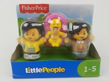 Fisher Price Little People Big Helpers Family Figurines Asian