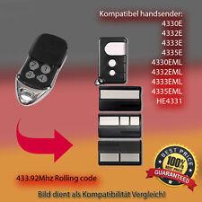 Compatible with 4330E,4333E,4335E,4330EML,4333EML,4335EML Handsender Antriebe