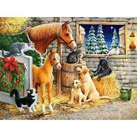 5D Full Drill Farm Animals Diamond Painting Embroidery Cross Stitch Kits Decors