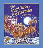 The Night Before Christmas Hardcover Clement Clarke Moore