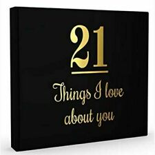 21 Things I Love About You Guest Book - 9781922256744