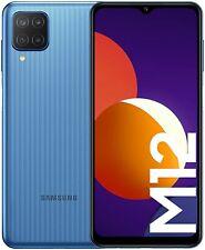 Samsung Galaxy M12 Smartphone Dual SIM Android Light Blue (UK Version) Unlocked