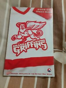 2002-03 Grand Rapids Griffins (AHL) Detroit Red Wings official team media guide