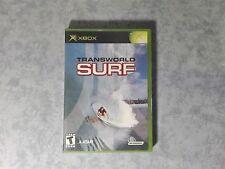 TRANSWORLD SURF - MICROSOFT PRIMA XBOX ORIGINALE CLASSIC - NTSC US USA COMPLETO