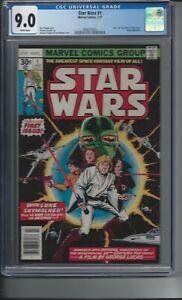 Star Wars #1 - Marvel Comics (7/77) - CGC 9.0