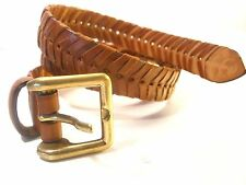 Women's Leather Belt Unknown Maker Unique Design Every Hole Useable