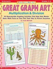 Math Skills Made Fun: Great Graph Art Multiplication & Division (Grades 3-4)
