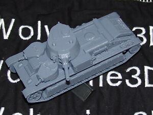 Flames Of War Russian T-28 1/100 15mm FREE SHIPPING