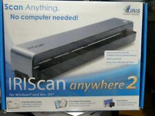 IRIScan Anywhere 2 Portable Scanner with 1 GB SD Card and CD