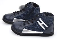 HOGAN REBEL R141 JUNIOR BAMBINA SCARPA SNEAKER CASUAL ART. HXT1410I391E5C269K