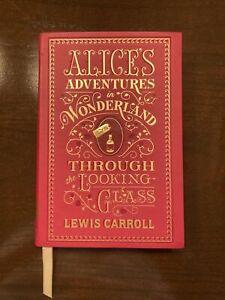 Alice in Wonderland Barnes & Noble Leather Bound