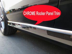 2004-2018 HyunModels Chrome SIDE ROCKER PANEL Trim Molding Kit 2PC