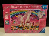 Ravensburger Horse Dreams 100 Piece Glitter Jigsaw Puzzle Every Piece is Unique