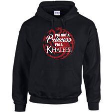 459 I'm not a Princess Hoodie Khaleesi dragon house targaryen queen sweatshirt