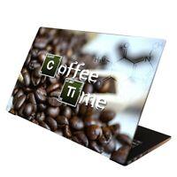Laptop Folie  Aufkleber Schutzfolie für Notebook Skin Cover Coffee 13-17 Zoll