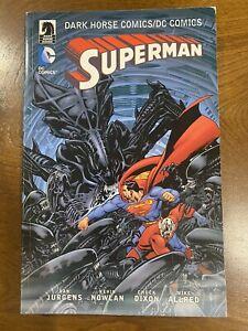 Dark Horse/ DC Comics SUPERMAN TPB GN OOP 2016 Jurgens, Dixon, Allred
