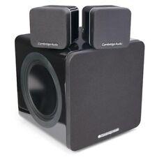 Cambridge Audio Minx 212 Stereo Lautsprecher SET inkl. Subwoofer schwarz