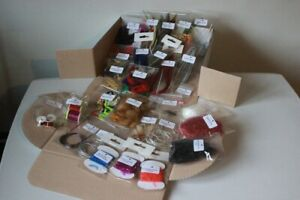 Advanced Fly Tying Kit £75+ of Flyman materials boxed PLUS 2 FREE CAPES.