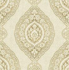 tapete designtapete ornamente gold stein eierschale orientalisch edel - Tapete Orientalisches Muster