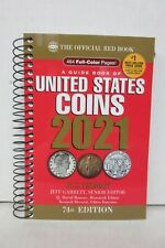 2021 Red Book of United States Coins Yeoman 74th ed. Softcover Spiral Guide Book