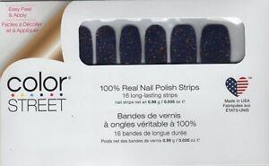 CS Nail Strips Deepwater Opal Limited Edition 100% Nail Polish - USA Made!