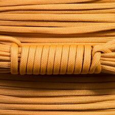 PARACORD 550 TYPE 3 - 7 STRAND PARACHUTE CORD - MARIGOLD - 100FT