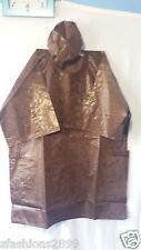 Men Clothing Brocade Print Dashiki TopW/Cap African Ethnic Shirt Plus Size Brown