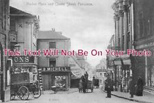 CO 470 - Market Place & Queen Street, Penzance, Cornwall c1906 - 6x4 Photo