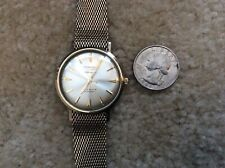 Excellent Vintage Longines Automatic 5 Star Admiral 10 K Gold Filled Wrist Watch