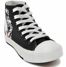 Tanggo Jolie Fashion High Cut Sneakers Women's Rubber Shoes (Black)  Size 36