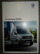 Catalogue Volkswagen Le Nouveau Crafter de Mai 2011 16 pages NEUF