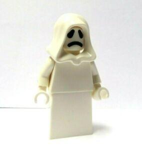 LEGO Ghost Minifigure Figure Reversible Head Haunted House Halloween