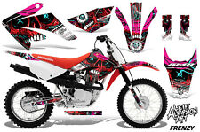 AMR Racing Honda CRF 80/100 Graphic Kit Bike Decal MX Wrap Part 11-16 FRENZY R