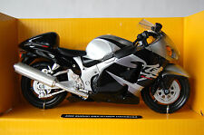 SUZUKI  HAYABUSA  GSX1300R  1/12th  MODEL  MOTORCYCLE  BLACK
