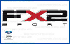 2011 Ford F150 FX2 Sport Decals F Stickers Truck Bed side graphics set red black
