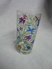 Colorful Birds and Tree Limbs 5.5 inch Glass