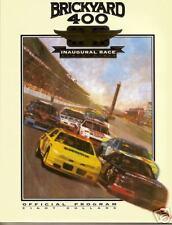 1994 Brickyard 400 Nascar Indy Earnhardt Jeff Inaugural Race official program