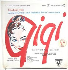 SEALED ALAN JAY LERNER & FREDERICK LOEWE: Gigi Soundtrack LP SUTTON RECORDS