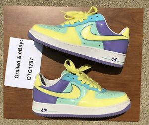 Size 10 - Rare Vintage 2006 Nike Air Force 1 Low Easter Egg AUTHENTIC