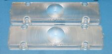 NOS Pair GM Guide Parking Light Lenses 1961 Chevy Impala SS 409 Bel Air Biscayne