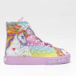 Lelli Kelly Sneaker Unicorn Mid Lilla Bambina