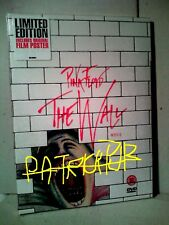 PINK FLOYD THE WALL IL FILM  LIMITED EDITION DVD + POSTER SIGILLATO  NO BLURAY