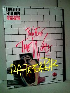 PINK FLOYD   THE WALL   IL FILM  LIMITED EDITION     DVD + POSTER     NO BLURAY