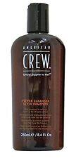 American CREW Power purificare stile SMACCHIATORE SHAMPOO 250 M
