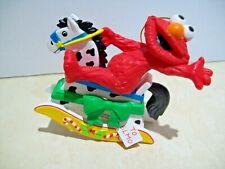 Grolier Christmas Ornament Elmo on Rocking Horse Jim Henson Sesame Street