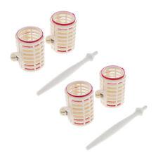 4x DIY Fasteners Curler Rollers/ Plastic Hair Roller /Large Hair Curlers