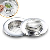"""4.5"""" Kitchen Bathroom Sink Strainer Stainless Steel Filter Drain Strainer"""