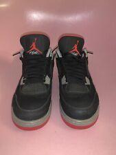 """Air Jordan 4 """"Bred"""" Size 9.5 No box"""