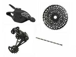 Sram GX Eagle 1x12 speed Shifter+Chain+Cassette w/ X01 Eagle Derailleur Black