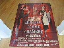 DIARY OF A CHAMBERMAID Luis Bunuel Jean Moreau original French grande Poster